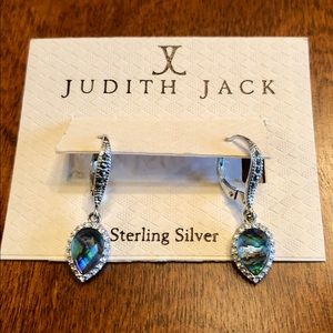 Judith Jack Sterling Silver Earrings